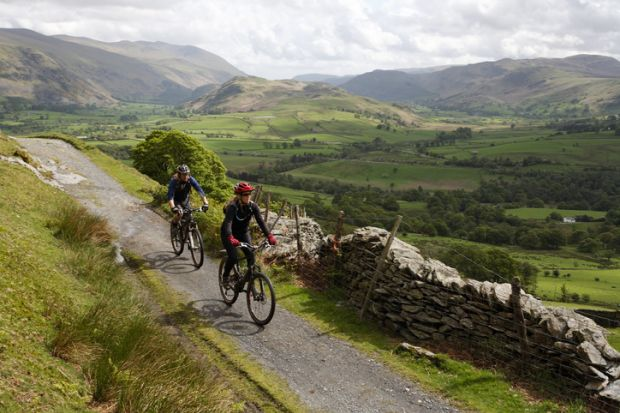 Cycling was cited by one of our experts as a top self-care tip during the pandemic
