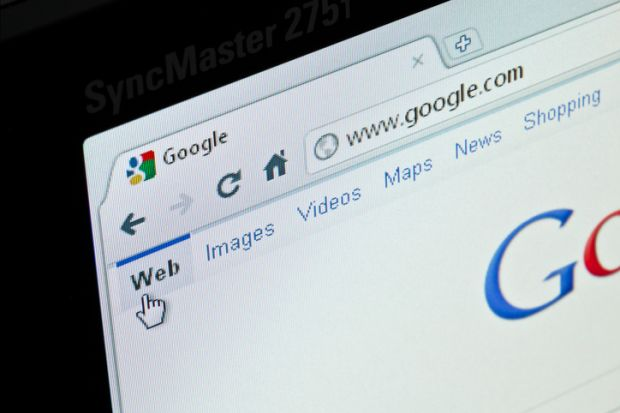 A Google search on a home computer. With such easy access to all of human knowledge at our fingertips, methods of assessment need to be updated.