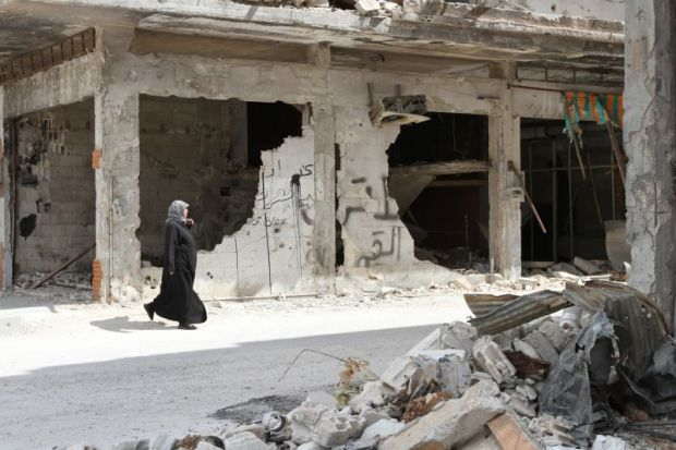 homs syria bombs