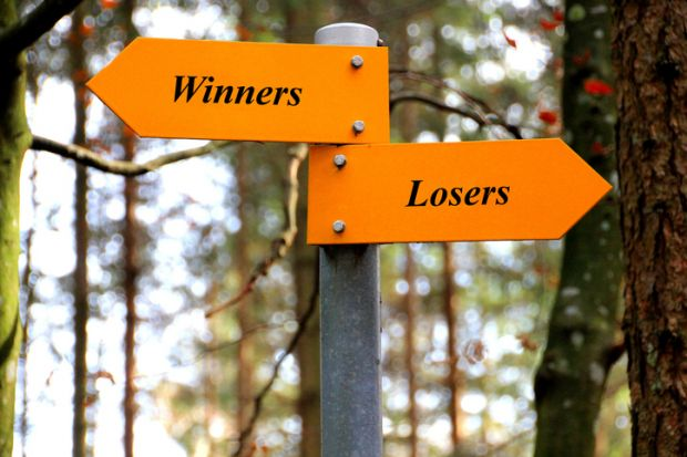 Winners, losers, TEF, rankings