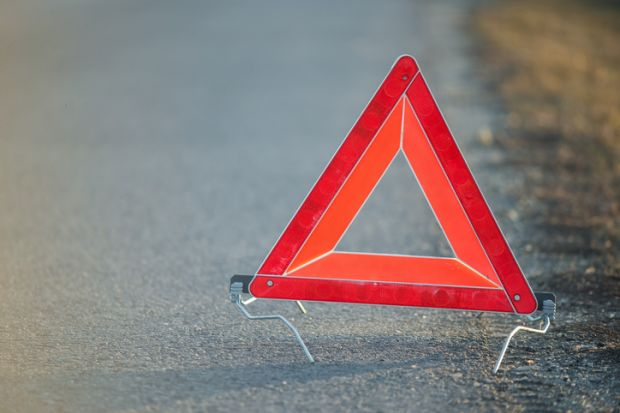 triangle, warning