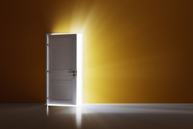door opening door access opportunity & Tuition fees have opened doors for students not closed them ...