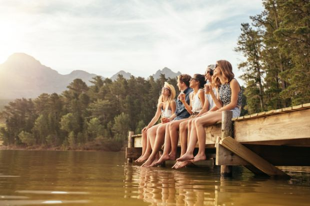 What are university students doing this summer?