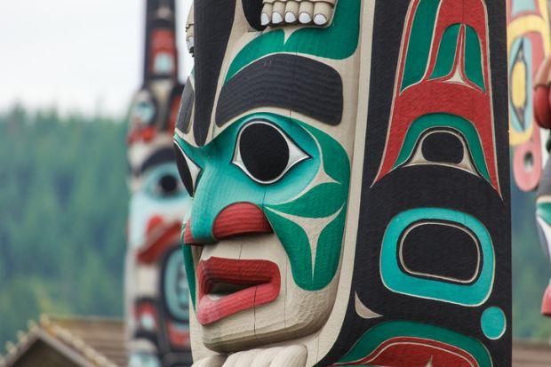 North American indigenous totem