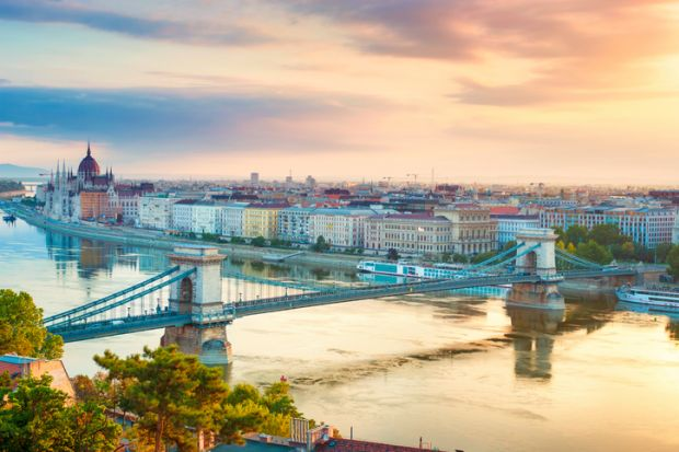 International students Budapest