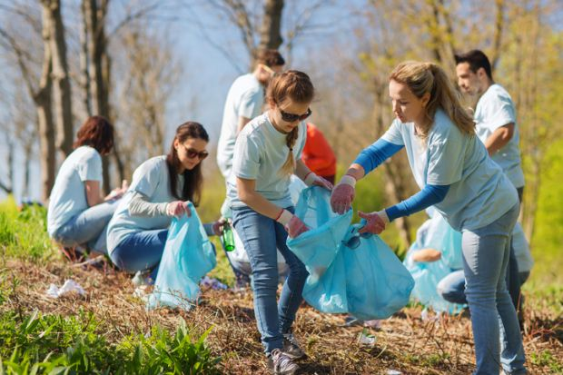 what are the benefits of student volunteering times higher
