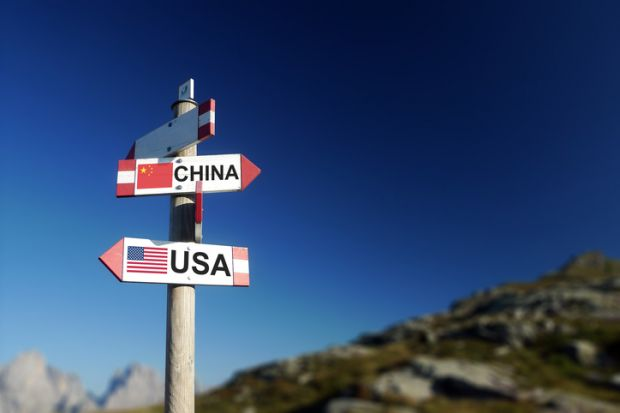 China, US, USA