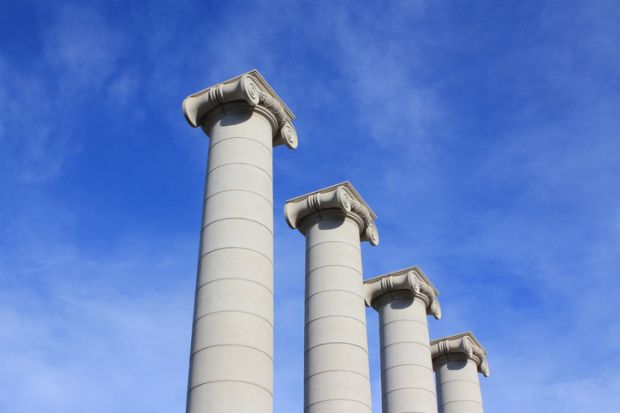 columns, pillars