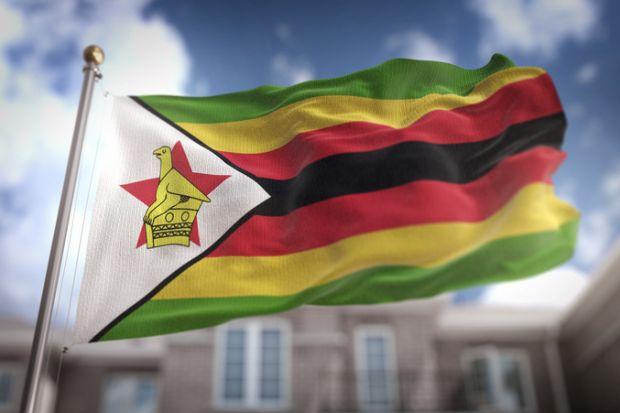 Zimbabwe, flag, mugabe