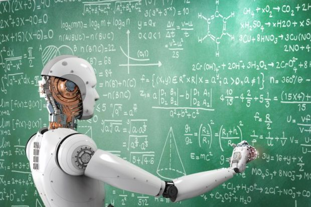 Robot mathematician