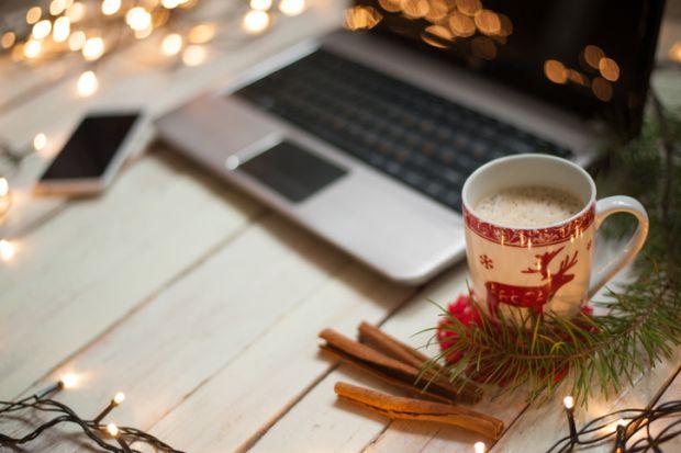 How are university students celebrating Christmas?
