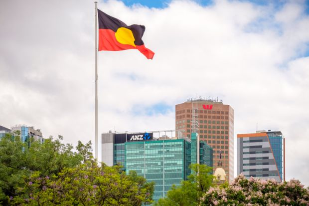Aboriginal flag Aborigine indigenous