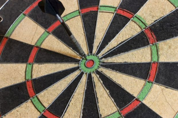 close to bullseye