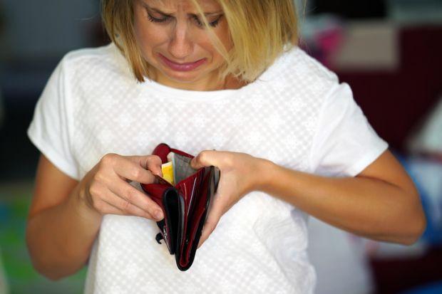 poverty poor penniless skint no money broke