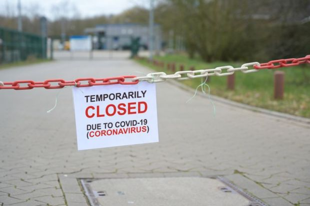 temporarily closed due to Covid-19