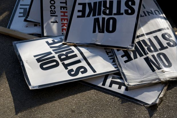Strike picket trade union bill