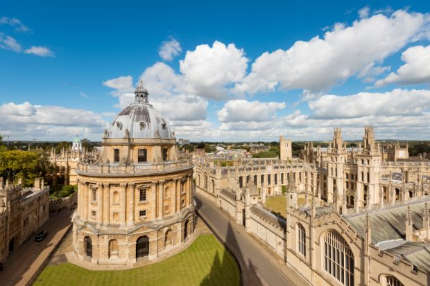 Radcliffe Camera and All Souls College in Oxford