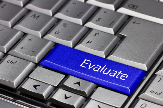 Evaluation button