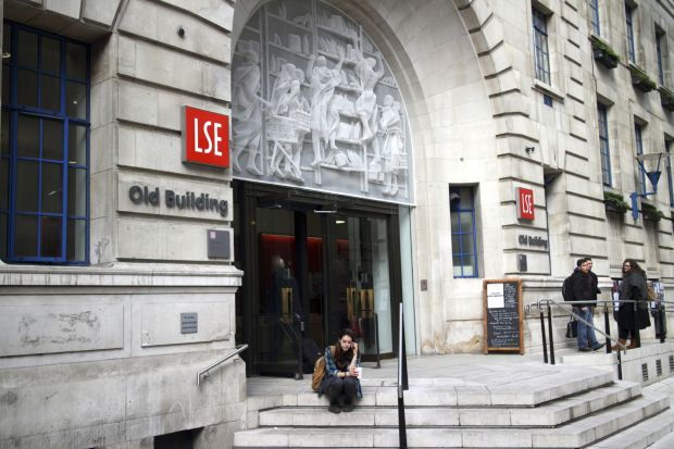 LSE entrance talk disrupted adam perkins