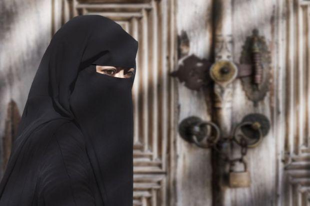 burka niqab face veil