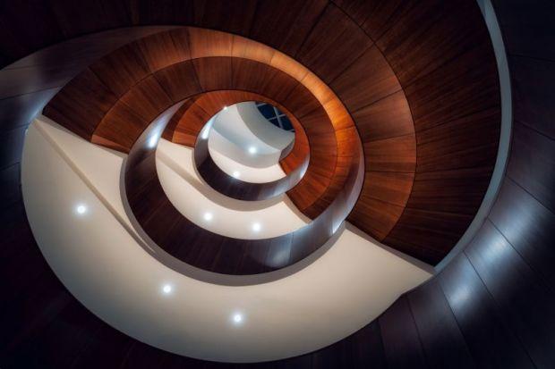 spiral stairs University of Sydney