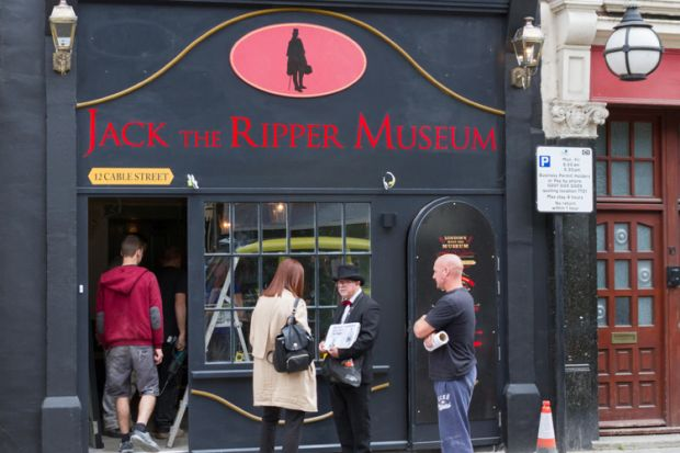 jack the ripper musem shadwell