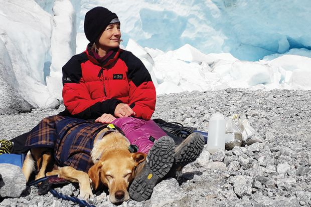 Jemma Wadham, one of the world's leading glaciologists and author of Ice Rivers