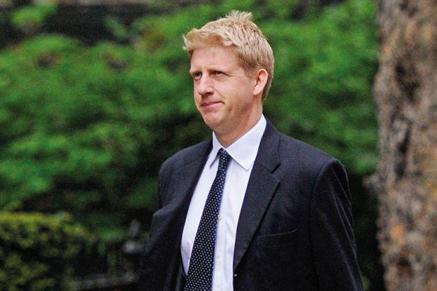 Jo Johnson arrives at 10 Downing Street, London, England