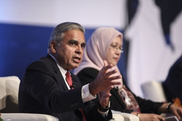 Kishore Mahbubani at the World Academic Summit