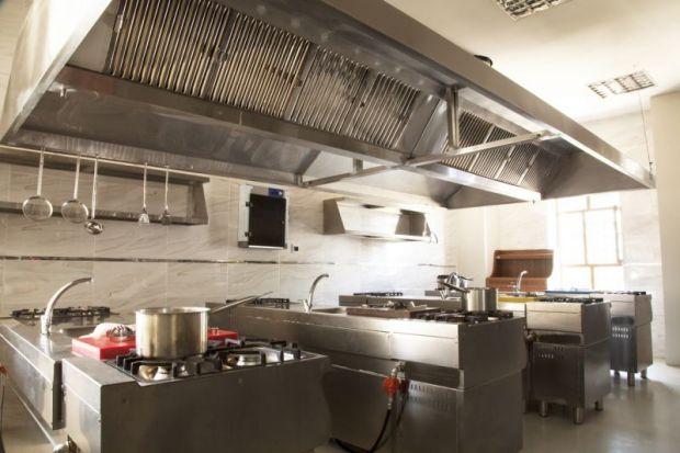 Kitchen stands empty