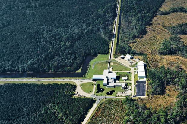 Laser Interferometer Gravitational-wave Observatory (Ligo), Livingston, Louisiana