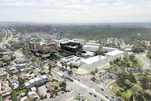 La Trobe's proposed Health and Wellbeing Hub