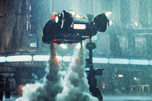 An image from Blade Runner