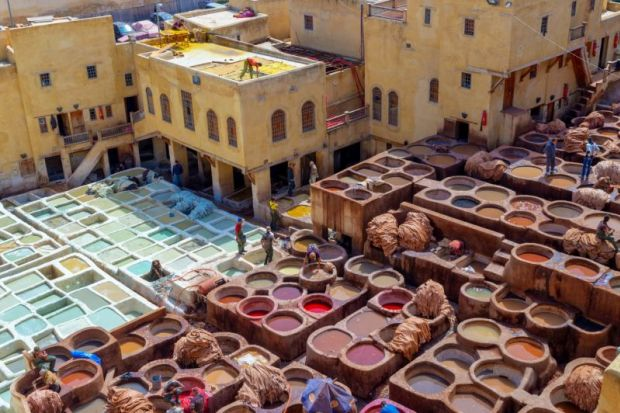 leather tanneries morocco
