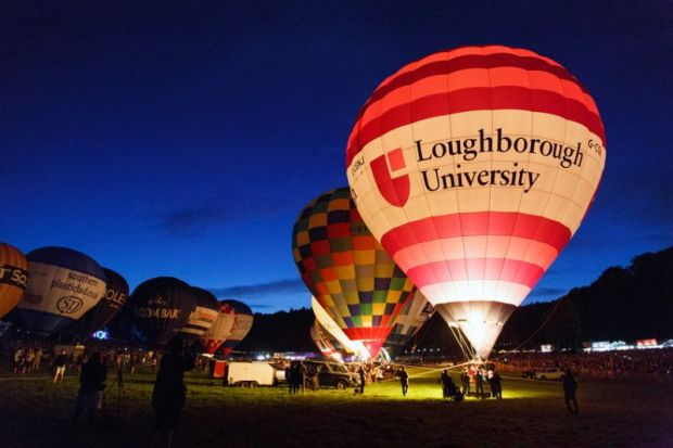 Loughborough University balloon