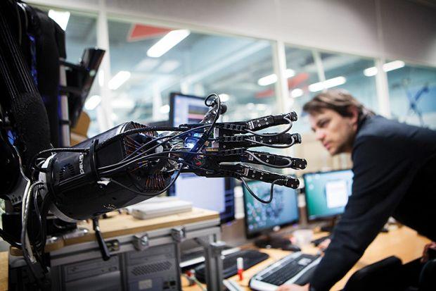 robot researcher