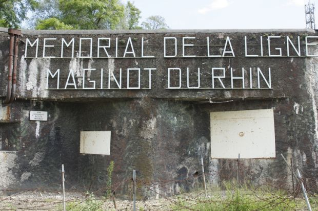 The Ligne Maginot museum, Alsace