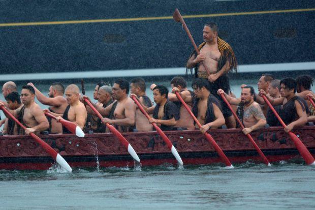 Maori waka heritage sailing in Auckland