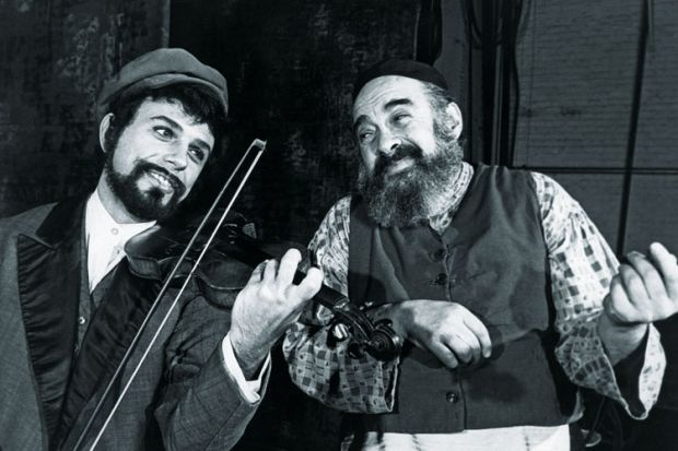 Mark Scott and Paul Lipson in Fiddler on the Roof