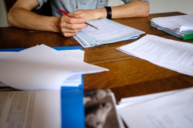 Marking exams