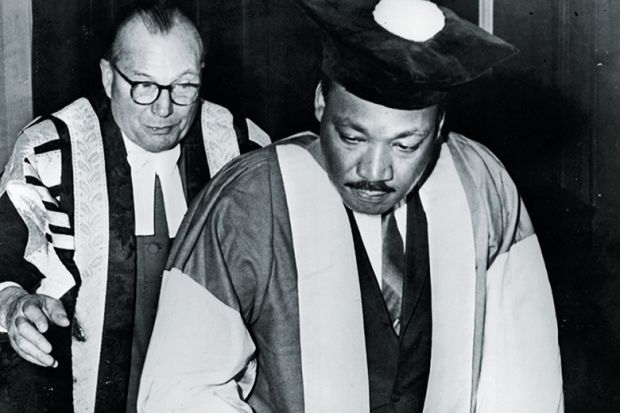 Martin Luther King honorary degree