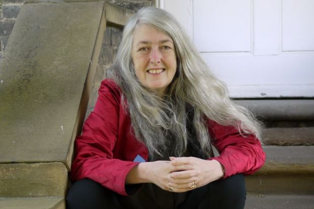 Classicist Mary Beard has donated £80,000 to fund places for under-represented students at University of Cambridge