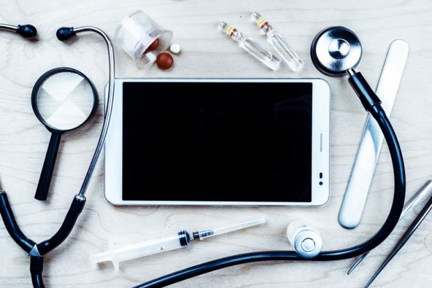 Medical instruments and touchscreen tablet PC