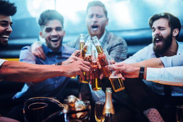 Men having drinks