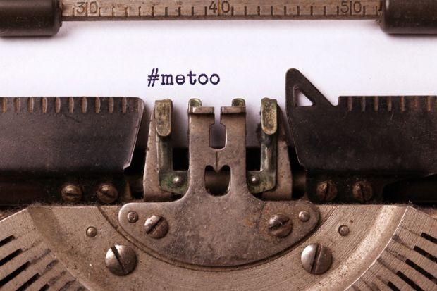 MeToo on typewriter
