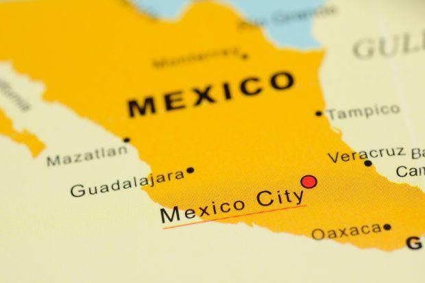 Mexico en el mapa