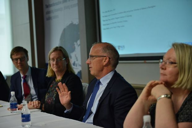 Michael Spence speaks at the World Academic Summit