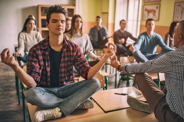 mindfulness exercises help students stay focused in class the news