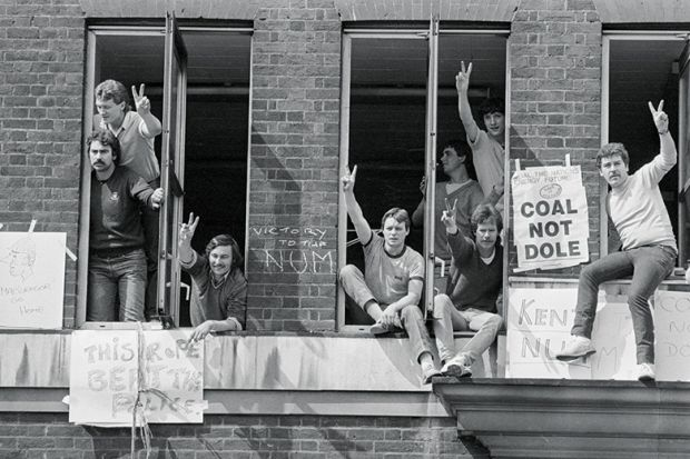 Miner protesters