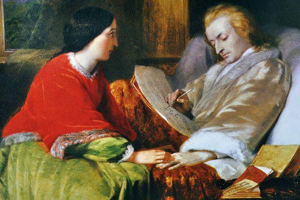 Mozart Composes his Requiem by William James Grant
